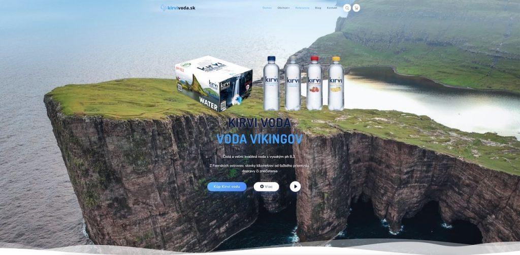 Kirvi voda Slovensko